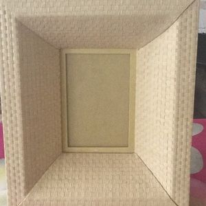 Z Gallery natural weave frame 10.5 x 12.5